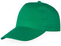 Бейсболка Memphis 5 клиньев детская, зеленый фото