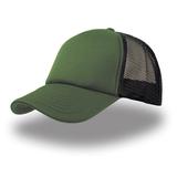 Бейсболка Rapper 5 клиньев, зеленый/зеленый фото