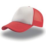 Бейсболка Rapper, красный с белым фото