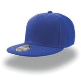 Бейсболка SNAP BACK 6 клиньев, плоский козырек, синий фото