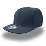 Бейсболка SNAP FIVE 5 клиньев, плоский козырек, темно-синий фото