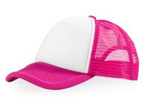 Бейсболка Trucker 5 клиньев, розовый фото