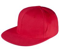 Бейсболка Unit Snapback с плоским козырьком, красная фото