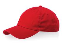 Бейсболка Verve 6 клиньев, красный фото
