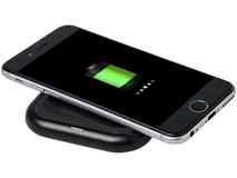 Беспроводное зарядное устройство Radiant, черное фото