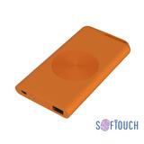 Внешний аккумулятор Theta Wireless, 4000 мАч, оранжевый фото