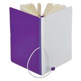 Бизнес-блокнот в линейку Franky А5, фиолетовый/белый фото