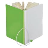 Бизнес-блокнот в линейку Franky А5, зеленый/белый фото