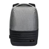 Бизнес рюкзак Portobello с USB разъемом, Leardo Plus, 475х330х150 мм, серый/серый фото
