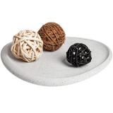 Блюдо декоративное Share-On-Stone, серый камень фото