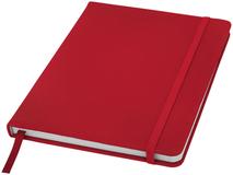 Блокнот в линейку на резинке Spectrum А5, 96 листов, красный фото