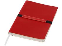 Блокнот на резинке Stretto А5, 96 листов, красный фото