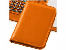 Блокнот с калькулятором Smarti А6, 20 листов, оранжевый фото