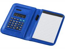 Блокнот с калькулятором Smarti А6, 20 листов, ярко-синий фото