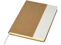 Блокнот Journalbooks Cork А5, 96 листов, крафт/белый фото