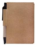 Блокнот c авторучкой Eco light, 80 листов, древесный фото