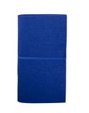 Блокнот на резинке и авторучкой Felt, 60 листов, синий фото