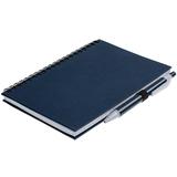 Блокнот Spiral Viral с ручкой, 80 стр., темно-синий фото