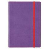 Бизнес блокнот на резинке Vivid Colors, 336стр, фиолетовый фото