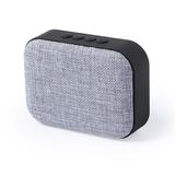 Bluetooth колонка FABRIC прямоугольная, серая фото