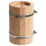 Бочонок-конструктор Whiskey Barrel, 420 мл, бежевый фото
