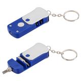 Брелок - фонарик с отверткой, синий фото