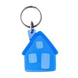 Брелок в виде домика Lodge, голубой фото