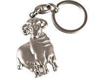 Брелок в форме овечки, серебряный фото