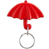 Брелок в виде зонтика Rainy, красный фото