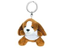 Брелок игрушка Собачка Брейди, коричневый фото