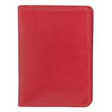 Бумажник водителя Angelo Moretti Модена натуральная кожа, красный фото