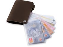 Бумажник Valencia, коричневый фото