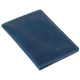 Бумажник водителя Apache натуральная кожа, синий фото