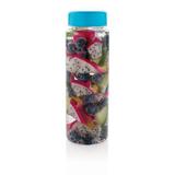 Бутылка с контейнером для фруктов XD Design Everyday, синий фото