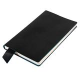 Бизнес блокнот в линейку thINKme Trendi А5, 256 стр., черный/ голубой фото