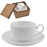 """Чайная пара """"Классика"""" в подарочной упаковке; 190мл; фарфор; деколь фото"""
