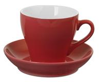 Чайная пара Tulip, красная фото