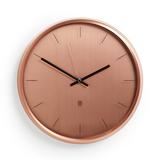 Часы настенные meta медь, оранжевый фото