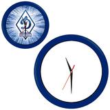 Часы настенные Промо разборные, яркий синий, синий фото