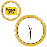 Часы настенные ПРОМО разборные, желтый, желтый фото