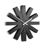 Часы настенные Ribbon, черныe фото