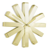 Часы настенные ribbon латунь фото