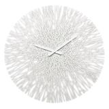 Часы настенные silk, белые фото