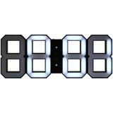 Часы White & White Clock, черные фото