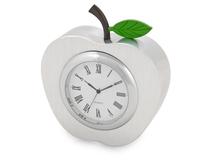 Часы настольные Серебряное яблоко, серебряный/серый фото