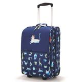 Чемодан детский trolley xs abc friends, синий фото