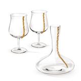 CHINELLI Набор для вина Regina, золочение фото