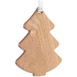 Деревянная подвеска Carving Oak, в форме елочки фото