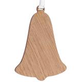 Деревянная подвеска Carving Oak, в форме колокольчика фото