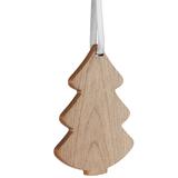 Деревянная подвеска Carving, в форме елочки фото